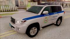 Toyota Land Cruiser 200 Russian Police для GTA San Andreas