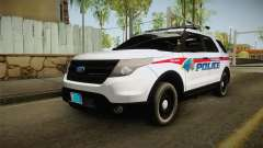 Ford Explorer 2012 YRP для GTA San Andreas
