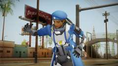 Overwatch: Captain Amari для GTA San Andreas