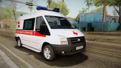 Ford Transit Скорая Помощь города Харьков для GTA San Andreas