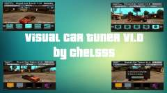 Visual Car Tuner v1.0 для GTA San Andreas