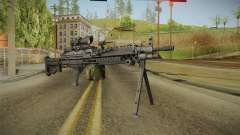 M249 Light Machine Gun v5 для GTA San Andreas
