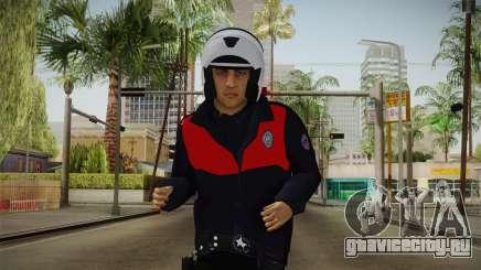 Turkish Police Motorcycle Officer для GTA San Andreas