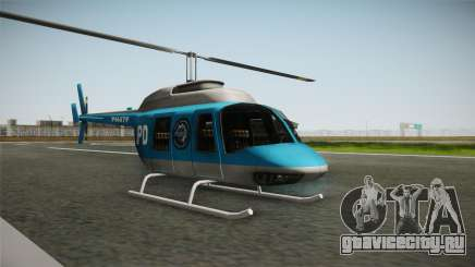 Serbian Police Helicopter для GTA San Andreas