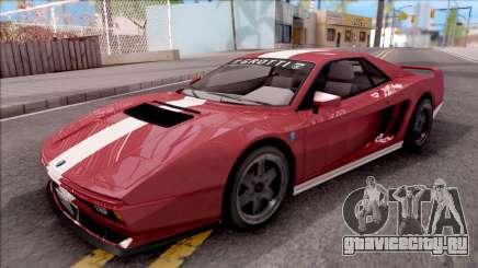 GTA V Grotti Cheetah Classic для GTA San Andreas