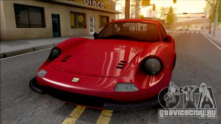 Ferrari Dino 264 1969 для GTA San Andreas