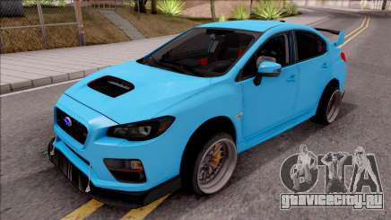 Subaru WRX STI 2017 Tuning для GTA San Andreas