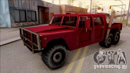 Patriot 6x6 для GTA San Andreas