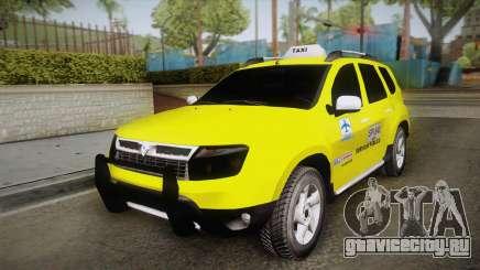Renault Duster Taxi для GTA San Andreas