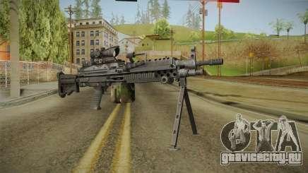 M249 Light Machine Gun v5 для GTA San Andreas