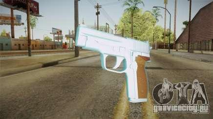 Chrome Sag Sauer P228 для GTA San Andreas