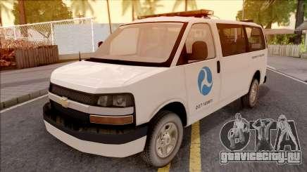 Chevrolet Express San Andreas DOT 2010 для GTA San Andreas