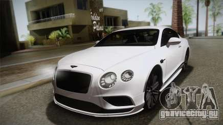 Bentley Continental SuperSport для GTA San Andreas