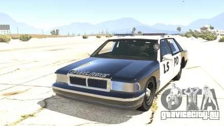 Полицейское авто из GTA San Andreas для GTA 5