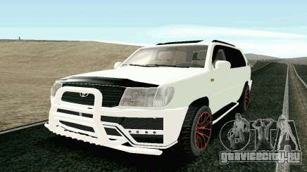 Toyota Land Cruiser 100 2017 для GTA San Andreas