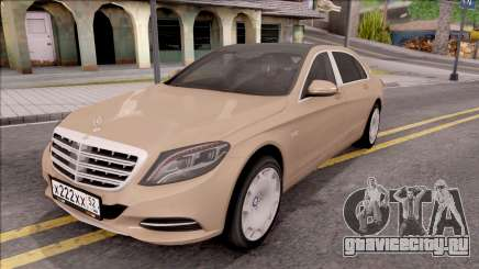 Mercedes-Maybach S600 для GTA San Andreas
