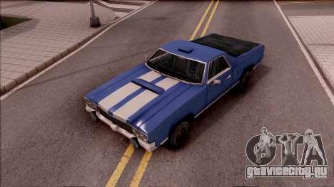Sabre La Destino Turbo для GTA San Andreas вид сзади