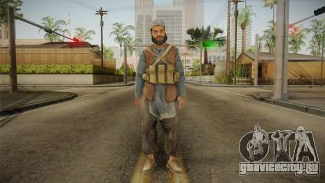 Medal Of Honor 2010 Taliban Skin v8 для GTA San Andreas второй скриншот