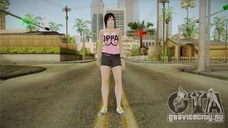 Kokoro Pinko Skin для GTA San Andreas второй скриншот