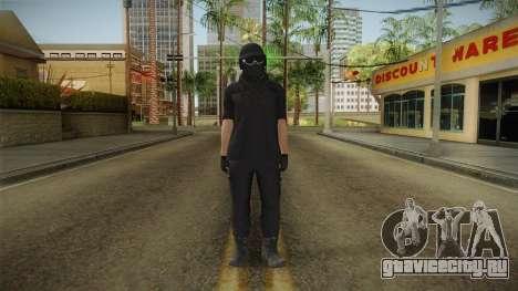 GTA Online: Black Army Skin v1 для GTA San Andreas второй скриншот