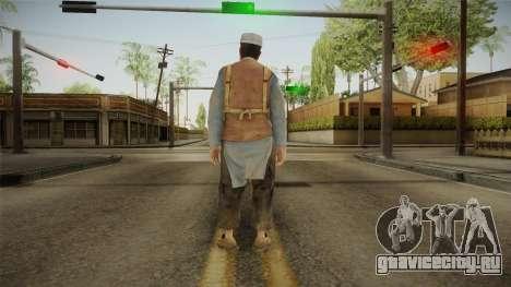 Medal Of Honor 2010 Taliban Skin v6 для GTA San Andreas третий скриншот