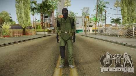 MSF Custom Soldier Skin 2 для GTA San Andreas второй скриншот