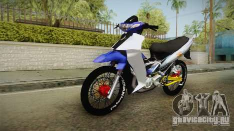 Yamaha 125Z Alloy Black для GTA San Andreas