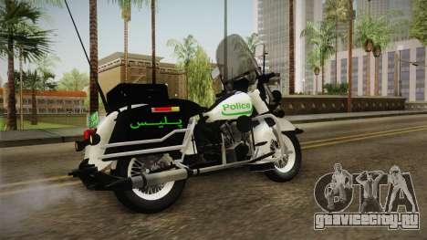 New Police Bike v1 для GTA San Andreas вид слева