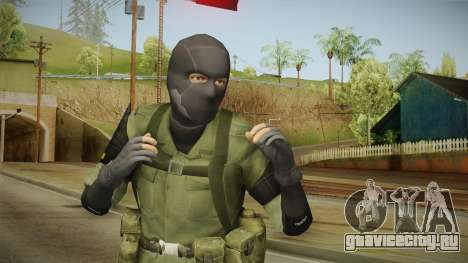MSF Custom Soldier Skin 3 для GTA San Andreas