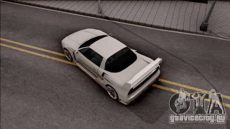 BlueRay Infernus V910 для GTA San Andreas вид сзади
