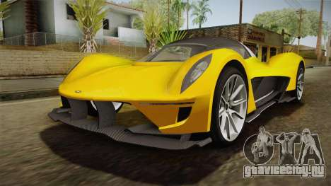 GTA 5 Dewbauchee Vagner для GTA San Andreas