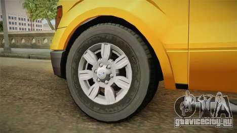 Ford F150 2010 для GTA San Andreas вид сзади