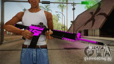 Purple M4A1 для GTA San Andreas