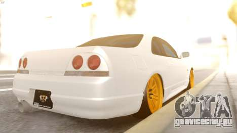 Nissan R33 Drift для GTA San Andreas вид слева