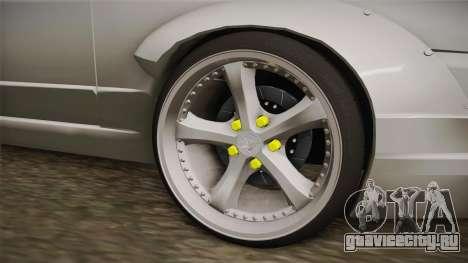 Nissan Skyline R32 Cabrio Drift Rocket Bunny v1 для GTA San Andreas вид сзади