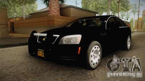 Chevrolet Caprice Police для GTA San Andreas вид справа