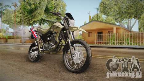 Yamaha XT660 для GTA San Andreas вид справа