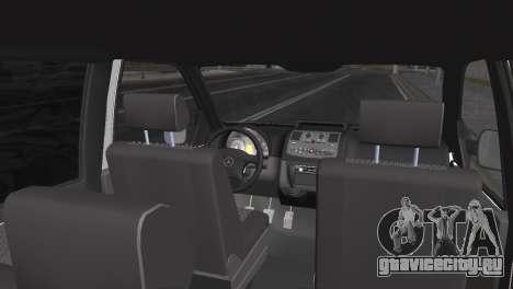 Mercedes Vito для GTA San Andreas вид сзади слева