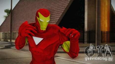 Marvel Heroes Omega - Iron Man для GTA San Andreas