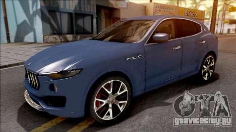 Maserati Levante 2017 для GTA San Andreas