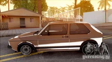 Volkswagen Golf Mk1 GTI для GTA San Andreas вид слева