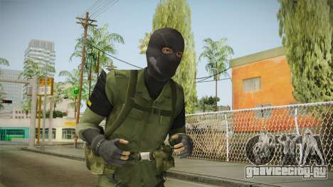 MSF Custom Soldier Skin 2 для GTA San Andreas
