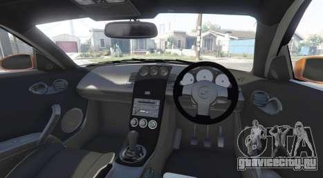 Nissan 350Z (Z33) stardast [add-on] для GTA 5 вид сзади справа