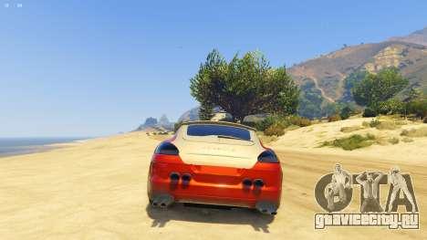 Майкл Лучше С Порше для GTA 5 третий скриншот