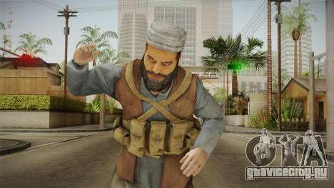 Medal Of Honor 2010 Taliban Skin v8 для GTA San Andreas