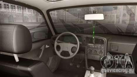 Volkswagen Passat Stanceworks для GTA San Andreas вид сзади слева