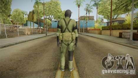 MSF Custom Soldier Skin 2 для GTA San Andreas третий скриншот