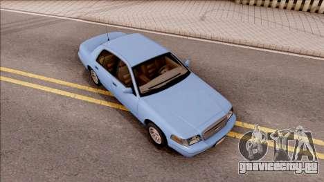 Ford Crown Victoria 2003 для GTA San Andreas вид справа