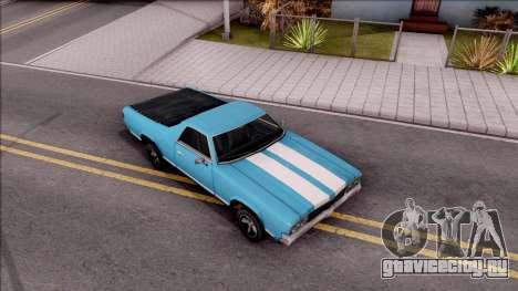 Sabre La Destino Turbo для GTA San Andreas вид справа
