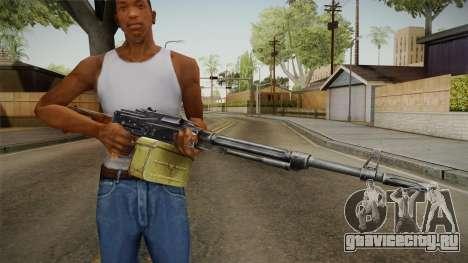 PKM Light Machine Gun для GTA San Andreas третий скриншот